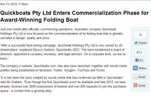 Quickboat on PYMNTS