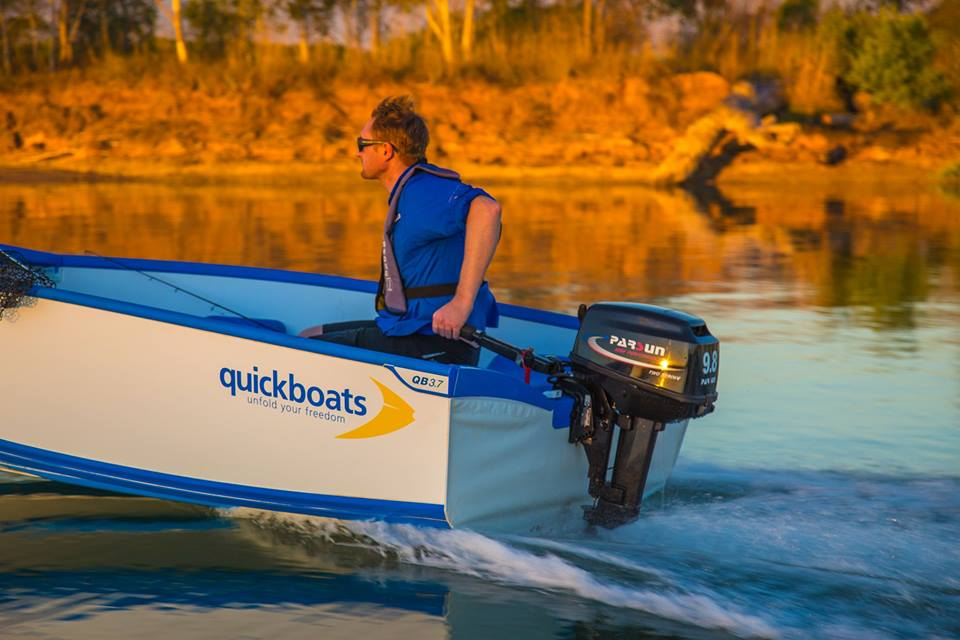 Adventure Unfolds With This FRP Boat
