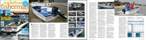 Quickboats on January/February Trailerboat Fisherman Magazine