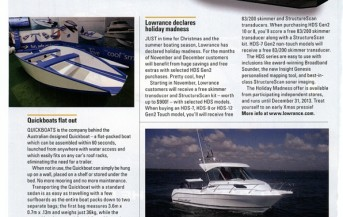 Quickboats on Fishing World Magazine