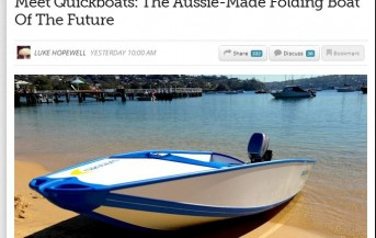 Quickboats on Gizmodo AU