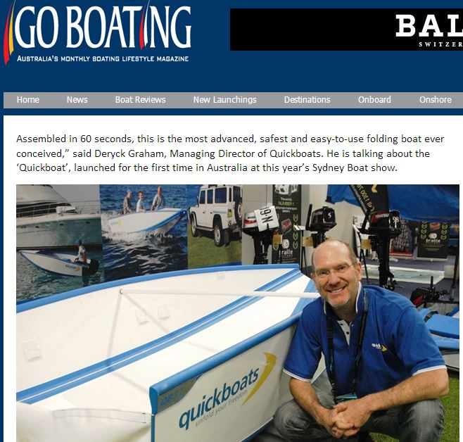 Quickboat Review: Quickboats on Go Boating