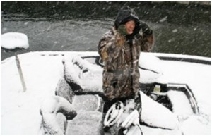 Bass Fishing in Cold Weather