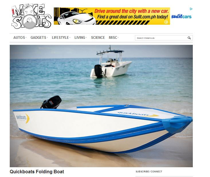 Quickboats on Mikeshouts.com