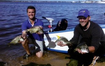 Quickboats on Engel 2014 WA Bream Classic Series
