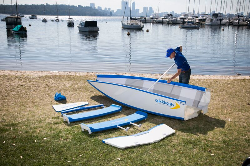 Quickboats – the world's coolest and most advanced folding boat Preview Image