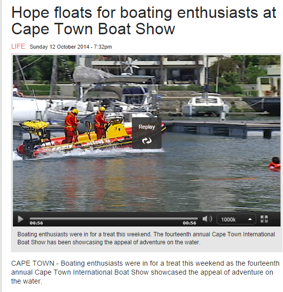 Quickboats, the world's coolest folding boat, features at the Cape Town International Boat Show