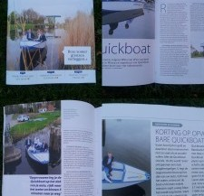 Rabobank supports Quickboats